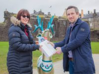 Family Celebrates After Winning First Stirling Reindeer Trail